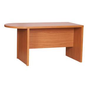 TEMPO KONDELA Zasadací stôl s oblukom, čerešňa americká, OSCAR T03