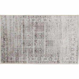 TEMPO KONDELA Vintage koberec, sivý, 140x200, ELROND