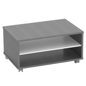 Konferenčný stolík, grafit/biela, RIOMA NEW TYP 32
