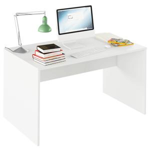 Písací stôl, biela, RIOMA TYP 11