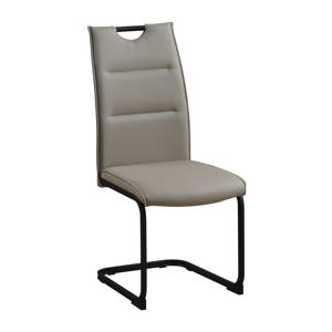 Jedálenská stolička, svetlohnedá/čierna, MEKTONA