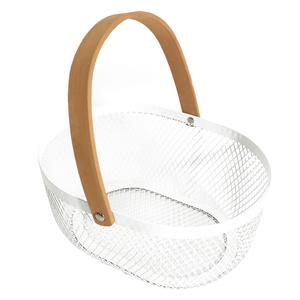 Viacúčelový košík, biela, KITEN TYP 1